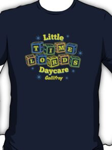 Little Time Lords Daycare Gallifrey Doctor Who Youth Tee T-Shirt