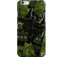 Geara Zulu Gundam Tees iPhone Case/Skin