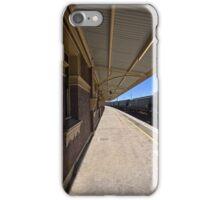 Train Station in Goulburn/NSW/Australia (14) iPhone Case/Skin