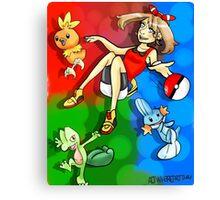 Pokemon-Ruby/Sapphire/Emerald Canvas Print