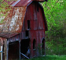 Big Red Barn by Brad Sumner