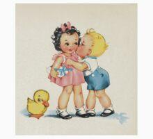 Vintage Kiss Baby Tee