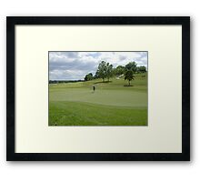 Time to Putt Framed Print