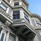 San Francisco Bay Window, Haight Ashbury, Victorian Heritage by Jane McDougall