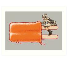 Popsicle Landspeeder Art Print