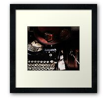 Steampunk Reflection Framed Print