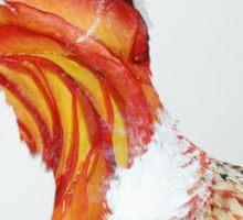 Floral Pheasant  Sticker
