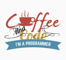 programer : coffee and code by dmcloth