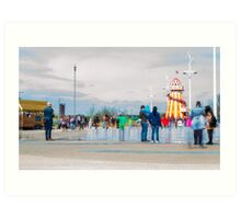 Olympic park - reopening Art Print