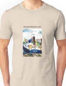 blue boat Unisex T-Shirt