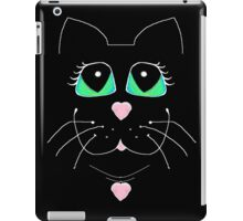 Cat With Sweet Heart Pendant iPad Case/Skin