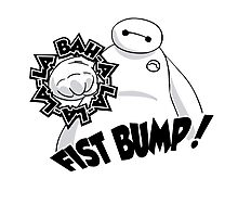 Baymax Fist Bump! Photographic Print