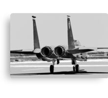 Jet Fighter Canvas Print