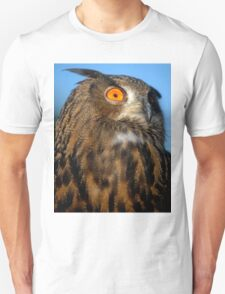 Eurasian Eagle Owl Unisex T-Shirt