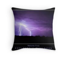 Natures Fury 2 Throw Pillow