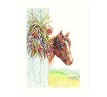 Howdy Partner Art Print