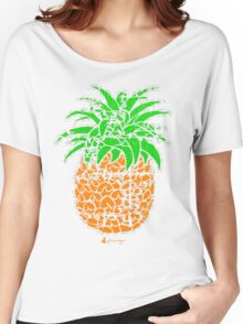 Keinage - Fruit Paradise - Pineapple Women's Relaxed Fit T-Shirt