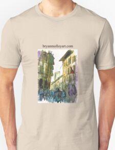 narrow street in italy T-Shirt