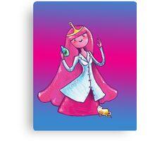 Princess Bubblegum .. Scientist Canvas Print