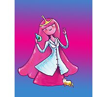Princess Bubblegum .. Scientist Photographic Print