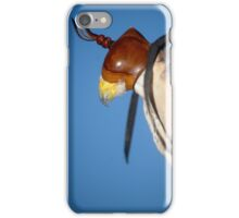 A Falcon With a Cap on its Head iPhone Case/Skin