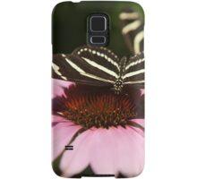 Zebra Longwing butterfly photography Samsung Galaxy Case/Skin