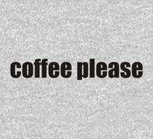 Coffee Please Kids Clothes
