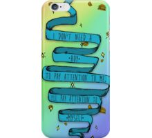 I don't need a boy iPhone Case/Skin