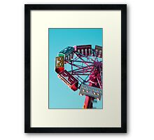 county fair photography  Framed Print