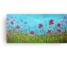 Playful Poppies of Provence Canvas Print