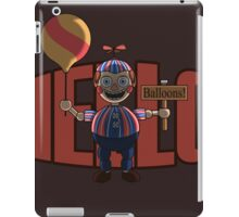 Hello (Balloon Boy) iPad Case/Skin