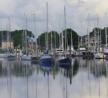 Wickford Harbor by Silvalization