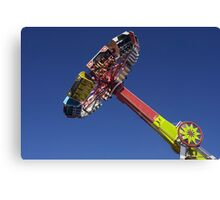 Evolution  fair ride photograph Canvas Print