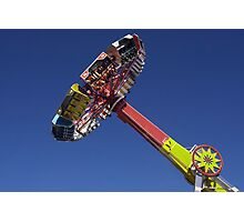 Evolution  fair ride photograph Photographic Print