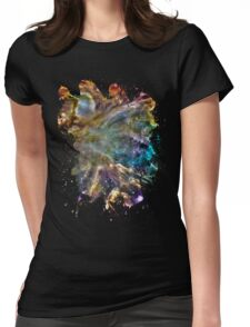 Colorful Cosmos Womens Fitted T-Shirt