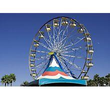 Ferris wheel photograph Photographic Print