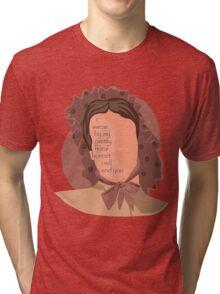 Firefly Floral Bonnet  Tri-blend T-Shirt
