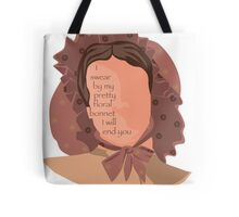 Firefly Floral Bonnet  Tote Bag