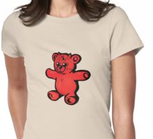 """Darth Ted"" cartoon tee shirt Womens Fitted T-Shirt"