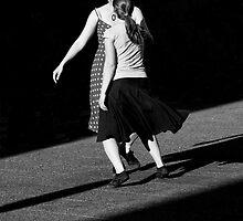 Dancing in the street by Itzick Lev
