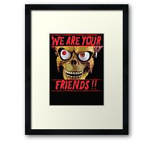 Mars Attacks!!!  Framed Print