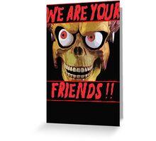 Mars Attacks!!!  Greeting Card