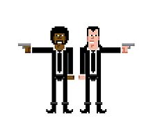 Pixel Vincent and Jules. Pulp Fiction. by Sergey Vozika