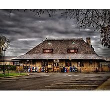 The Train Station  Photographic Print