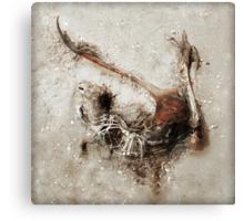 Dead Roo Canvas Print