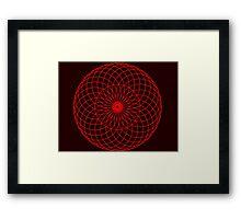 Sacred Retina Framed Print
