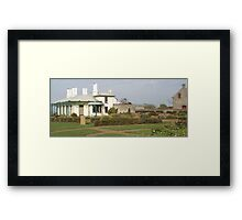 Stanley's beautiful historic Highfield House Framed Print