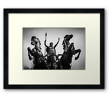 Rule, Britannia! Framed Print