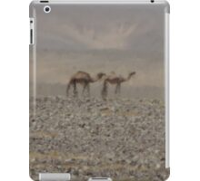Camels in Jordan 2 iPad Case/Skin