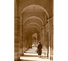 Archways in Paris, in sepia Photographic Print